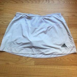 Adidas Tennis Skirt built in shorts White/Cream M